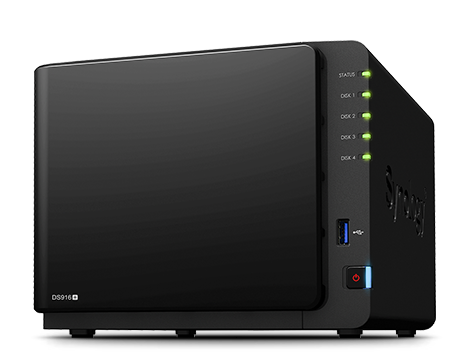 Serveur NAS Synology DS 916 Plus